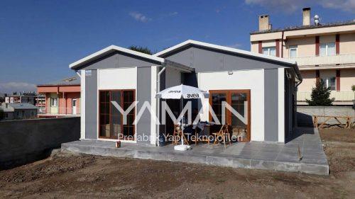 49 m2 Tek Katlı Prefabrik Ev