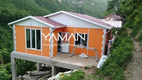50 m2 Prefabrik Ev