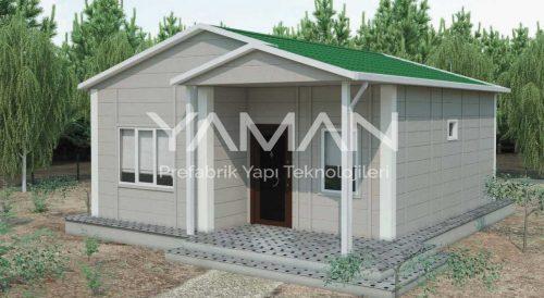 53 m2 Prefabrik Ev