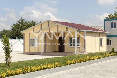 62 m2 Tek Katlı Prefabrik Ev