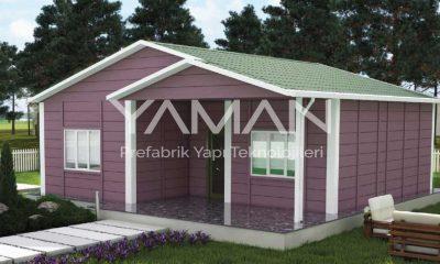 84 m2 Prefabrik Ev