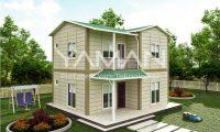 100 m2 Dubleks Prefabrik Ev