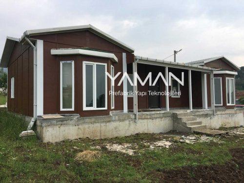 106 m2 Prefabrik Ev