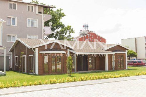 106 m2 Tek Katlı Prefabrik Ev