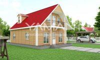 134 m2 Dubleks Prefabrik Ev