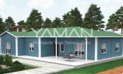 166 m2 Prefabrik Ev