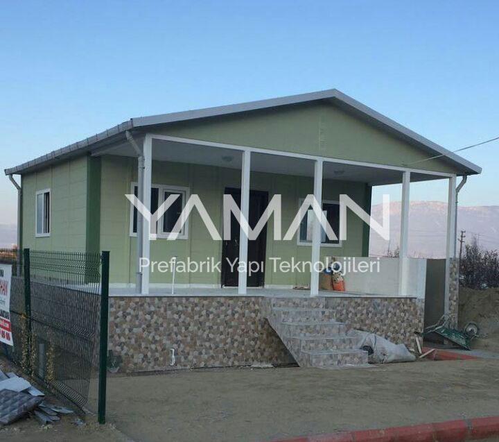 70 m2 Prefabrik Ev