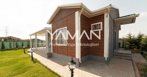 72 m2 Prefabrik Ev