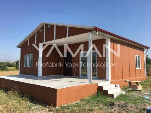 80 m2 Prefabrik Ev
