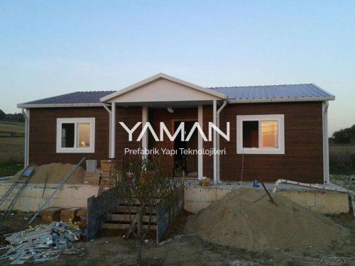 82 m2 Prefabrik Ev
