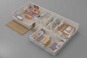 Prefabrik Ev 123 m2