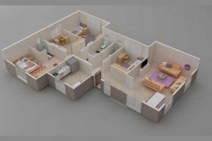 Prefabrik Ev 166 m2